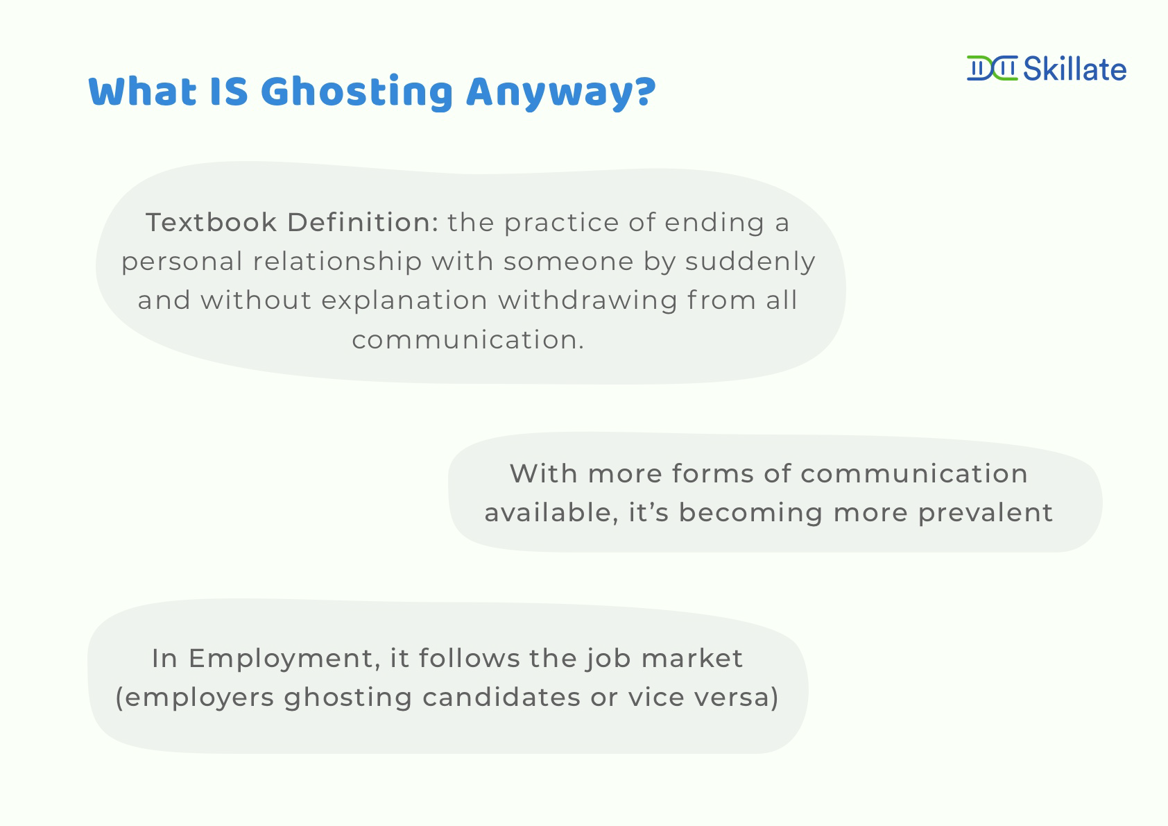 What is employee ghosting?