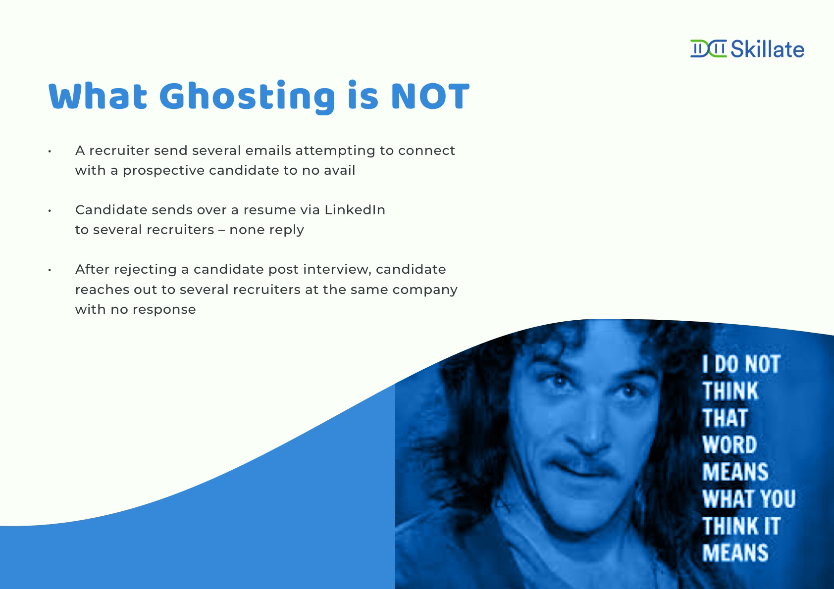 What is not employee ghosting?
